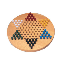Chinese Checkers With Pegs NEW!