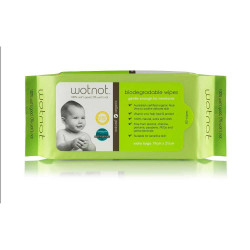 WOTNOT Biodegradable Baby Wipes x 80 Wipes