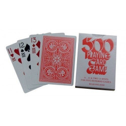 500 Playing Cards - Twin Pack