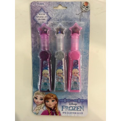 Disney Frozen Glitter Glue with Sparkles in the Lid - 3 Pack