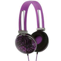 Moki Dome Headphones Graffitti Violet