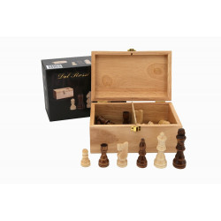 Dal Rossi Italy Chess 95mm Pieces Plus Storage Box