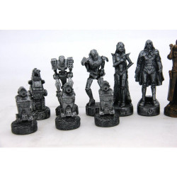 Dal Rossi Mad Max Robot Chess Pieces Polyresin ONLY