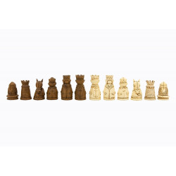 Dal Rossi Medieval Chess Pieces Polyresin ONLY, Board NOT INCLUDED