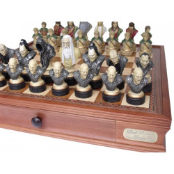 """Dal Rossi Italy, """"Lord of the Rings"""" Chess Pieces (pieces only)"""