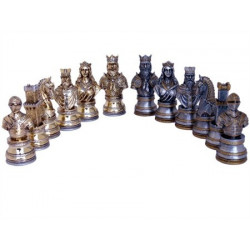 Dal Rossi Italy, Medieval Warriors Chessmen