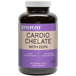 MRM, Cardio Chelate with EDTA, 180 Vegetarian Capsules