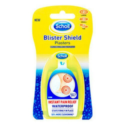 Scholl Blister Shield Waterproof Large Plasters ...5 Large