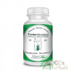 Fermentanicals Org Fermented Chlorella 500mg 90 Tablets