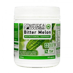 Nature's Goodness Bitter Melon 500mg 365 Capsules ***DEAL***