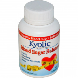 Kyolic, Aged Garlic Extract, Blood Sugar Balance, 100 Capsules