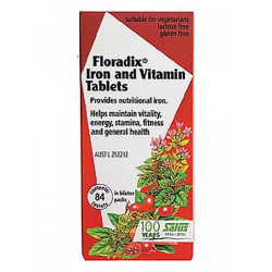 Floradix Iron and Vitamin 80 Tablets