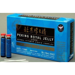 Peking Royal Jelly 2000 Blue 30 x 10 ml Vials *DEAL*