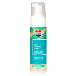 Le Tan Coconut Water Self Tanning Foam 200mL