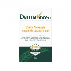 Dermaveen Daily Nourish Dry Skin Soap Free Cleansing Bar 115g ***DEAL ***