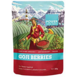 Power Super Foods Goji Berries Organic 250g