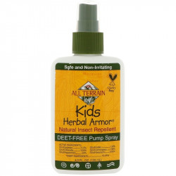 All Terrain, Kids Herbal Armor, Natural Insect Repellent, 4 fl oz (120 ml)