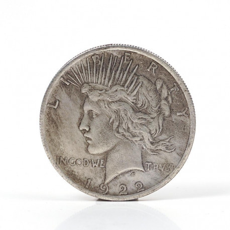 Double Sided Commemorative Vintage Silver Coin ... MAGIC !