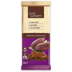 Sweet William Chocolate Bar Original (Ctn 12 x 100g )