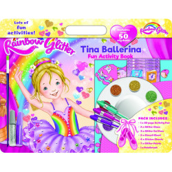 Rainbow Glitter Tina Ballerina Clamshell Activity Pack