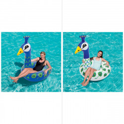 Bestway Large Peacock Swim Ring 1.65 m x 1.55 m