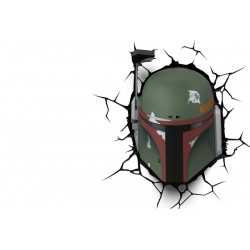 3D Deco Night Light - Star Wars Boba Fett